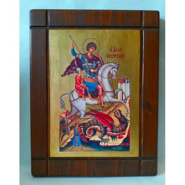 Άγιος Γεώργιος Εικόνα Εκκλησιαστικά Είδη - jeroucalim-shop.gr