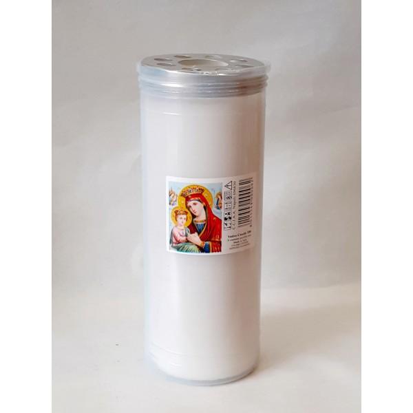 Κερί διαρκείας παραφίνη 12 ημερών άσπρο Κερί Εκκλησιαστικά Είδη - jeroucalim-shop.gr
