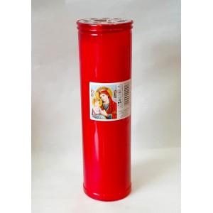 Κερί διαρκείας παραφίνη 9 ημερών Κερί Εκκλησιαστικά Είδη - jeroucalim-shop.gr