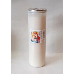 Κερί διαρκείας παραφίνη 7 ημερών Κερί Εκκλησιαστικά Είδη - jeroucalim-shop.gr